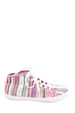Tamaris High Top Sneaker grafisches Muster Casual-Look