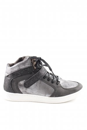 Tamaris High Top Sneaker mehrfarbig Glitzer-Optik