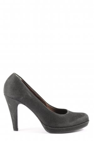 Tamaris Hochfront-Pumps schwarz Casual-Look