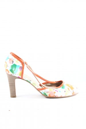 Tamaris Hochfront-Pumps Blumenmuster Casual-Look