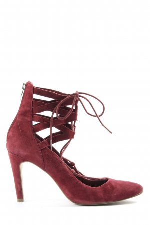 Tamaris Hochfront-Pumps rot extravaganter Stil