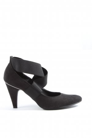 Tamaris Hochfront-Pumps schwarz Business-Look