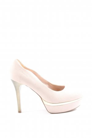 Tamaris High-Front Pumps cream business style