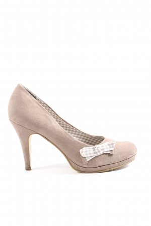 Tamaris High-Front Pumps natural white business style