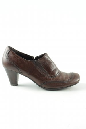 Tamaris Hochfront Pumps braun Business Look