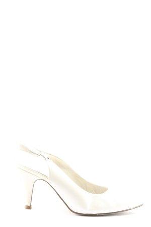 Tamaris Chaussure à talons carrés blanc style d'affaires