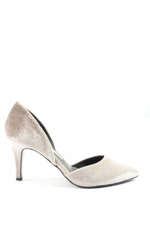 Tamaris Chaussure à talons carrés blanc cassé élégant