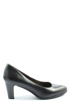 Tamaris Chaussure à talons carrés noir style d'affaires