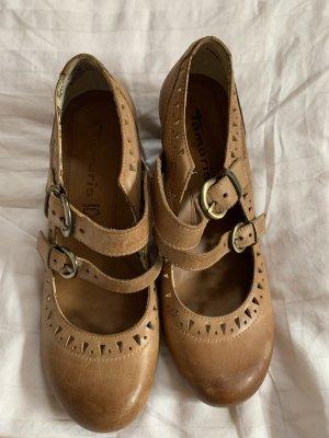 Tamaris hohe Schuhe Absatz mit Riemen