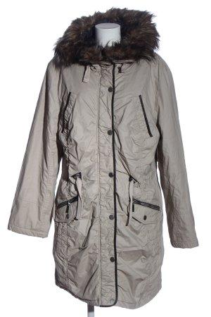 Tamaris Giacca con cappuccio grigio chiaro-nero stile casual