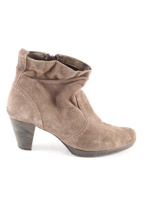 Tamaris Wedge Booties brown casual look