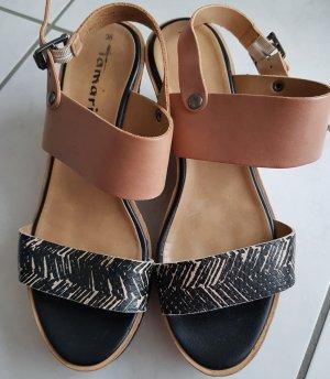 Tamaris Keilabsatz Sandale Gr. 36, guter Erhalt