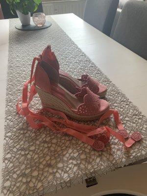 Tamaris Platform High-Heeled Sandal pink-pink