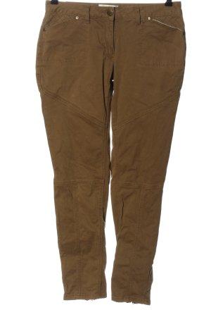 Tamaris Pantalon kaki brun style décontracté