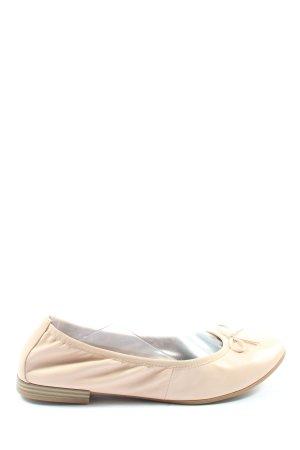Tamaris Klassische Ballerinas creme Casual-Look