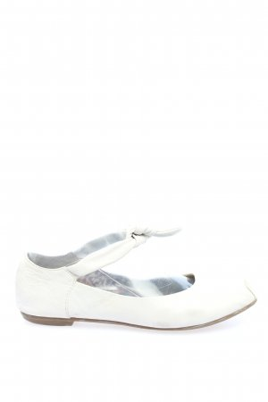 Tamaris Klassische Ballerinas weiß Casual-Look