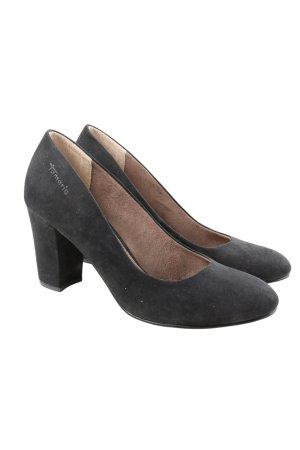 """Tamaris Classic Court Shoe """"W-etbsya"""" black"""