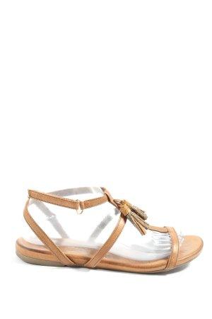 Tamaris Comfort Sandals brown casual look
