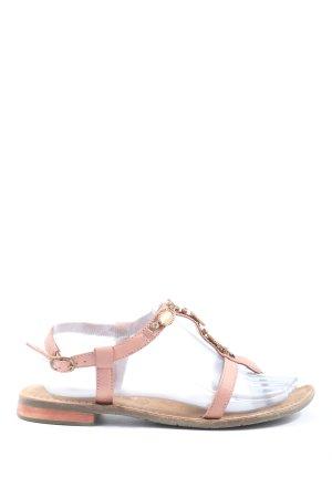 Tamaris Komfort-Sandalen wollweiß Casual-Look