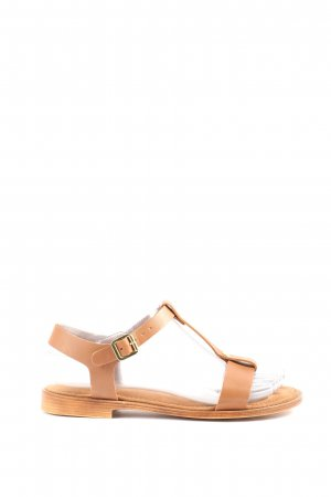 Tamaris Comfortabele sandalen licht Oranje casual uitstraling