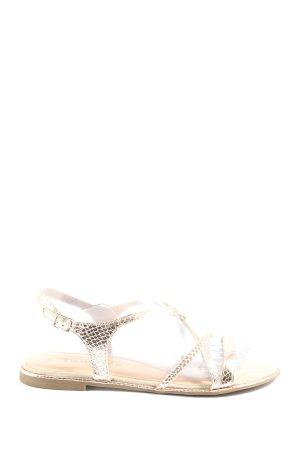 Tamaris Comfort Sandals gold-colored casual look
