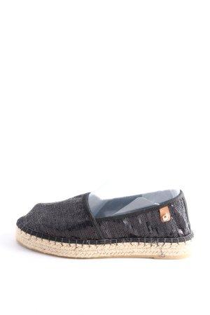 Tamaris Sandalias cómodas negro-crema look casual