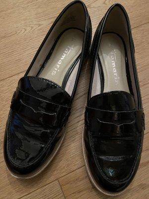 Tamaris Zapatos formales sin cordones negro-blanco