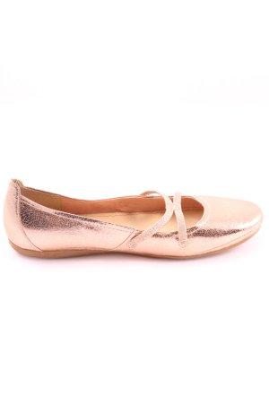 Tamaris Patent Leather Ballerinas pink casual look