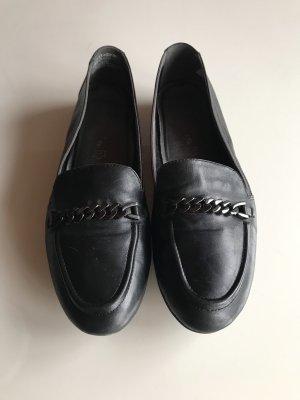 Tamaris Mocassins noir cuir