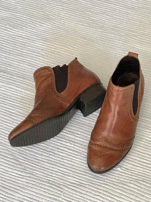 Tamaris Leder Stiefeletten Chelsea Ankle Boots Größe 38