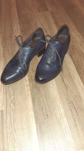Tamaris Wingtip Shoes slate-gray