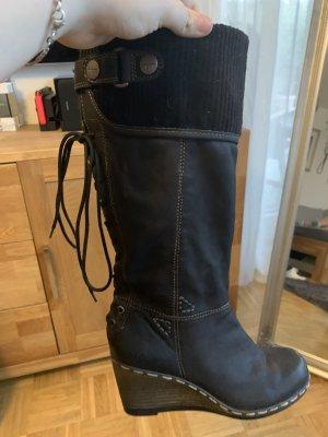 Tamaris Bottes d'hiver noir cuir