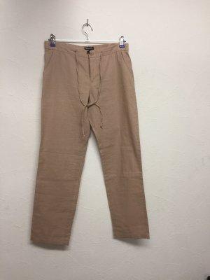 Tamaris Pantalone di lino rosa antico