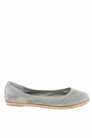 Tamaris Mary Jane Ballerinas hellgrau-braun Casual-Look