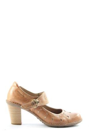 Tamaris Chaussures Mary Jane brun style décontracté