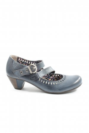 Tamaris Mary Janes blue business style