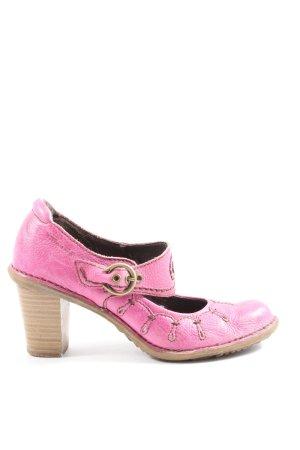 Tamaris Mary Jane pumps roze-bruin casual uitstraling
