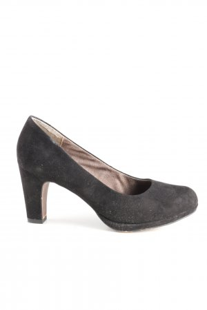 Tamaris Mary Jane pumps zwart zakelijke stijl