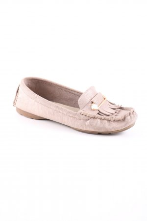 Tamaris Moccasins cream flecked casual look