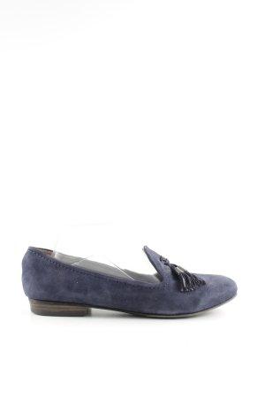 Tamaris Mocasines azul estilo «business»