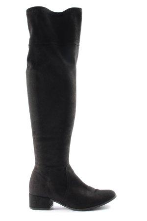 Tamaris Overknees black casual look