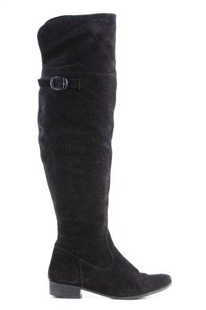Tamaris Botas sobre la rodilla negro look casual