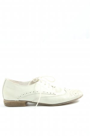 Tamaris Oxfords natural white business style