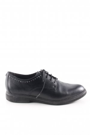Tamaris Oxfords black business style