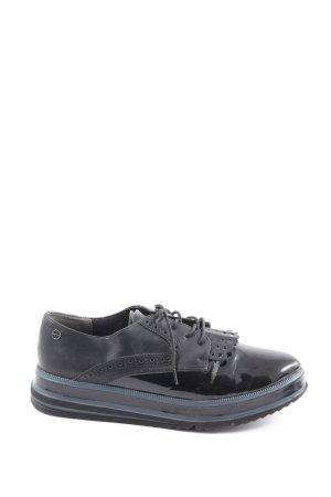 Tamaris Chaussure Oxford noir style d'affaires