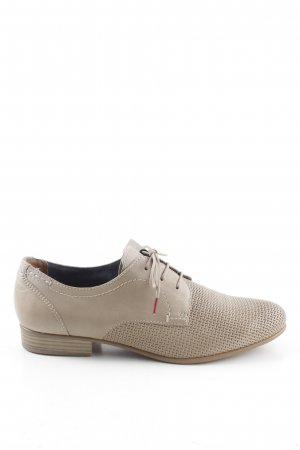 Tamaris Oxfords light grey business style