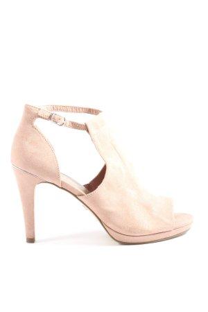 Tamaris Peeptoe Pumps pink Elegant
