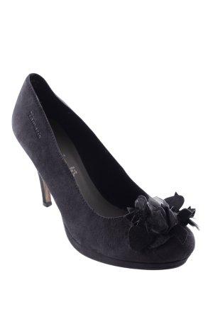 Tamaris Peeptoe Pumps schwarz Elegant
