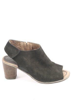 Tamaris Peep Toe Booties black casual look