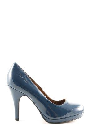 Tamaris Plateau-Pumps blau Elegant